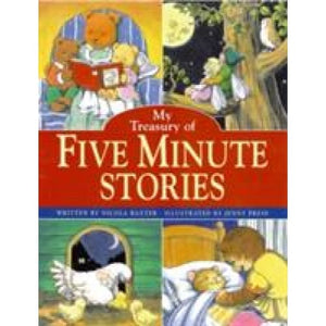 My Wonderful Treasury of 115 Five-Minute Stories - Anness Publishing 9781843228059