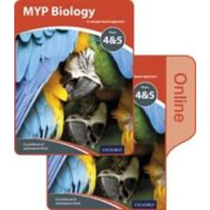 MYP Biology: a Concept Based Approach: Print and Online Pack - Oxford University Press