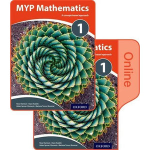 MYP Mathematics 1: Print and Online Course Book Pack - Oxford University Press 9780198356257