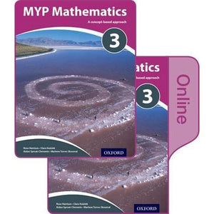 MYP Mathematics 3: Print and Online Course Book Pack - Oxford University Press 9780198356271