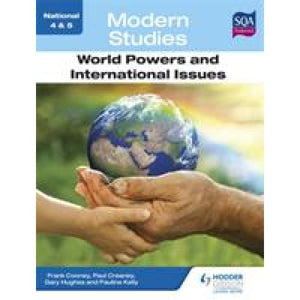 National 4 & 5 Modern Studies: World Powers and International Issues - Hodder Education 9781444182613