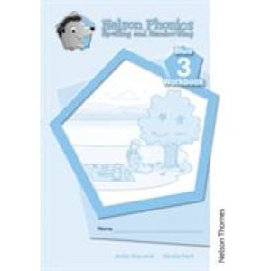 Nelson Phonics Spelling and Handwriting Blue Workbooks 3 (10) - Oxford University Press 9781408506110
