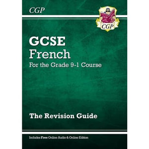 New GCSE French Revision Guide - for the Grade 9-1 Course (with Online Edition) - CGP Books 9781782945345