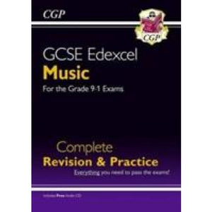 New GCSE Music Edexcel Complete Revision & Practice (with Audio CD) - For the Grade 9-1 Course - CGP Books 9781782946151
