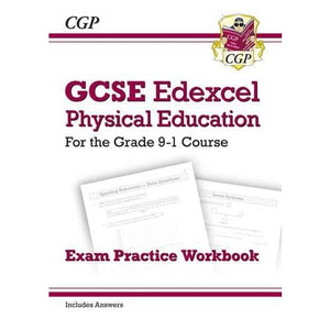 New GCSE Physical Education Edexcel Exam Practice Workbook - For the Grade 9-1 Course (Incl Answers) - CGP Books 9781782945307