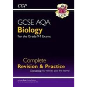 New Grade 9-1 GCSE Biology AQA Complete Revision & Practice with Online Edition - CGP Books 9781782945833