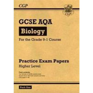 New Grade 9-1 GCSE Biology AQA Practice Papers: Higher Pack 1 - CGP Books 9781782948254
