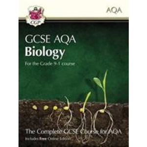 New Grade 9-1 GCSE Biology for AQA: Student Book with Online Edition - CGP Books 9781782945956