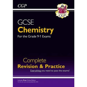 New Grade 9-1 GCSE Chemistry Complete Revision & Practice with Online Edition - CGP Books 9781782945901