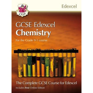 New Grade 9-1 GCSE Chemistry for Edexcel: Student Book with Online Edition - CGP Books 9781782948148