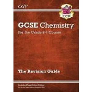 New Grade 9-1 GCSE Chemistry: Revision Guide with Online Edition - CGP Books 9781782945772