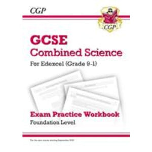 New Grade 9-1 GCSE Combined Science: Edexcel Exam Practice Workbook - Foundation - CGP Books 9781782944997