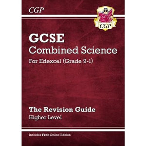 New Grade 9-1 GCSE Combined Science: Edexcel Revision Guide with Online Edition - Higher - CGP Books 9781782945741