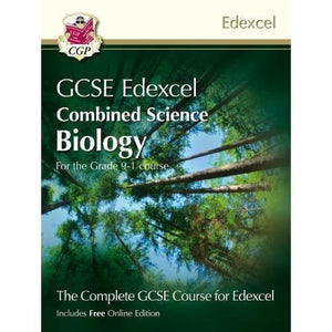 New Grade 9-1 GCSE Combined Science for Edexcel Biology Student Book with Online Edition - CGP Books 9781782948131
