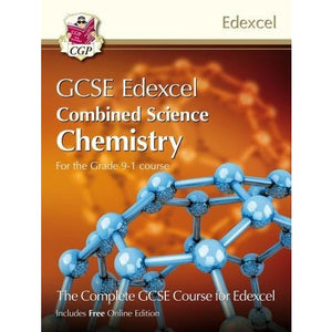 New Grade 9-1 GCSE Combined Science for Edexcel Chemistry Student Book with Online Edition - CGP Books 9781782948155