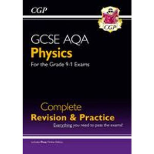 New Grade 9-1 GCSE Physics AQA Complete Revision & Practice with Online Edition - CGP Books 9781782945857