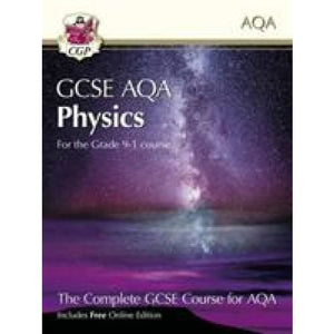 New Grade 9-1 GCSE Physics for AQA: Student Book with Online Edition - CGP Books 9781782945970