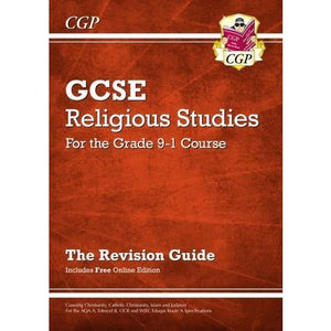 New Grade 9-1 GCSE Religious Studies: Revision Guide with Online Edition - CGP Books 9781782946441
