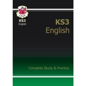 New KS3 English Complete Study & Practice (with Online Edition) - CGP Books 9781847621566