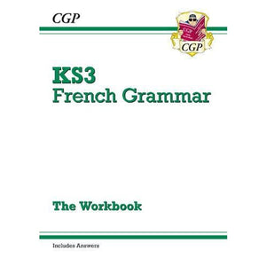 New KS3 French Grammar Workbook (Includes Answers) - CGP Books 9781782947936