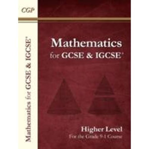 New Maths for GCSE and IGCSE Textbook Higher (for the Grade 9-1 Course) - CGP Books 9781782944379