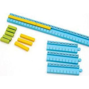 Numicon: 1-100cm Number Rod Track - Oxford University Press 9780198487111
