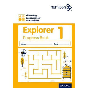 Numicon: Geometry Measurement and Statistics 1 Explorer Progress Book - Oxford University Press 9780198389392
