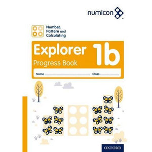 Numicon: Number Pattern and Calculating 1 Explorer Progress Book B (Pack of 30) - Oxford University Press 9780198389330