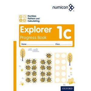 Numicon: Number Pattern and Calculating 1 Explorer Progress Book C (Pack of 30) - Oxford University Press 9780198389347