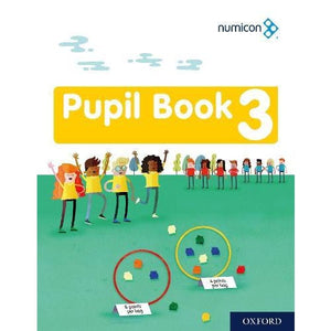 Numicon: Numicon Pupil Book 3 - Oxford University Press 9780198416944