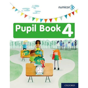 Numicon: Numicon Pupil Book 4 - Oxford University Press 9780198416975