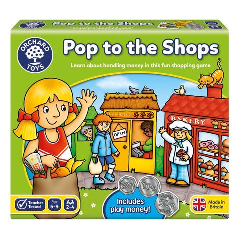 Image of Orchard Toys Pop the Shops Shopping Game - 5011863100658