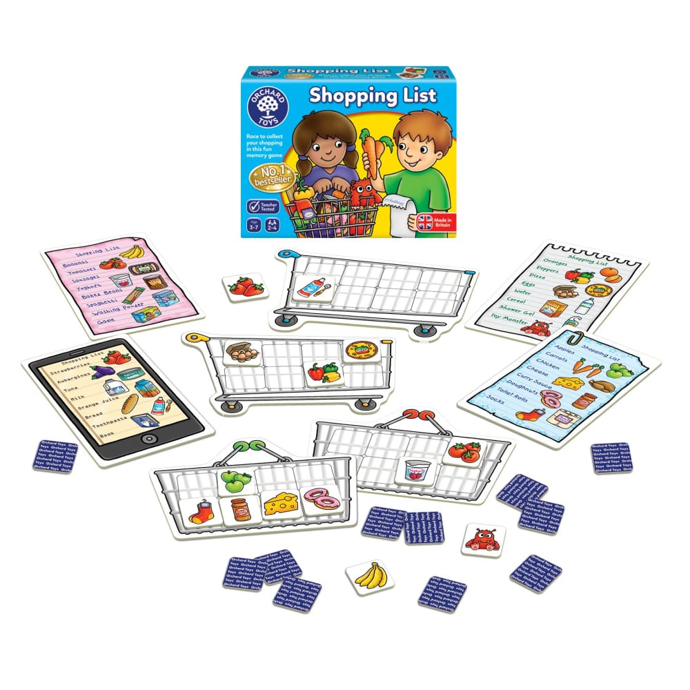 Orchard Toys Shopping List Memory Game - BrightMinds ...