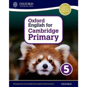 Oxford English for Cambridge Primary Student Book 5 - University Press 9780198366423