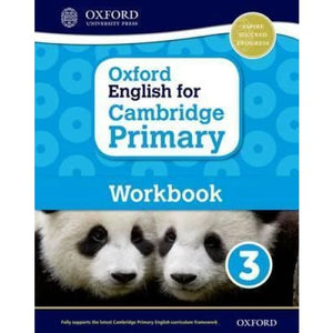 Oxford English for Cambridge Primary Workbook 3 - University Press 9780198366317