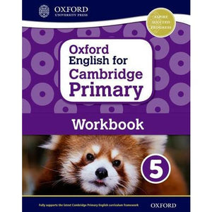 Oxford English for Cambridge Primary Workbook 5 - University Press 9780198366331