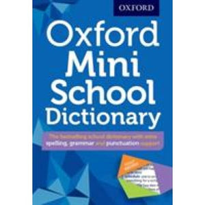 Oxford Mini School Dictionary - University Press 9780192747082