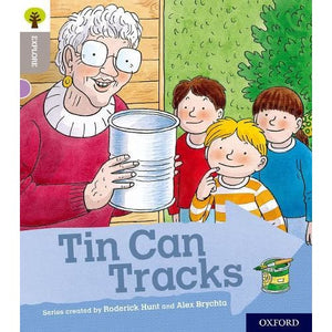Oxford Reading Tree Explore with Biff Chip and Kipper: Level 1: Tin Can Tracks - University Press 9780198396451