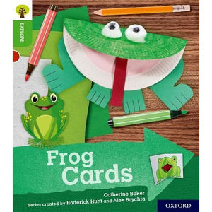 Oxford Reading Tree Explore with Biff Chip and Kipper: Level 2: Frog Cards - University Press 9780198396666