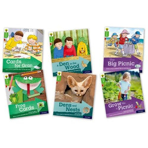 Oxford Reading Tree Explore with Biff Chip and Kipper: Level 2: Mixed Pack of 6 - University Press 9780198396598