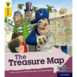 Oxford Reading Tree Explore with Biff Chip and Kipper: Level 5: The Treasure Map - University Press 9780198396871