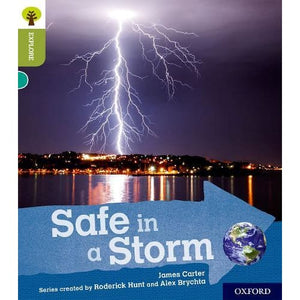 Oxford Reading Tree Explore with Biff Chip and Kipper: Level 7: Safe in a Storm - University Press 9780198397045