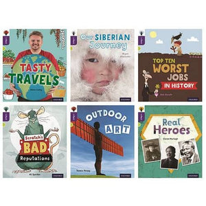 Oxford Reading Tree inFact: Level 11: Class Pack of 36 - University Press 9780198307945