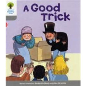 Oxford Reading Tree: Level 1: First Words: Good Trick - University Press 9780198480495