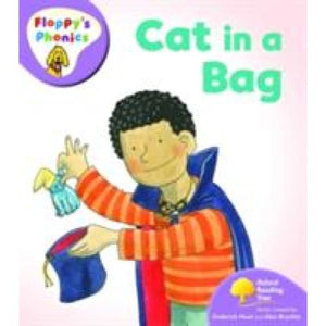 Oxford Reading Tree: Level 1+: Floppy's Phonics: Cat in a Bag - University Press 9780199117093
