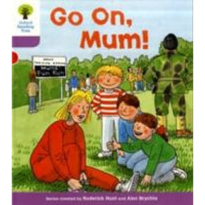 Oxford Reading Tree: Level 1+: More First Sentences A: Go On Mum - University Press 9780198480747