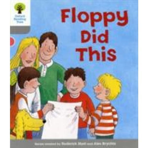 Oxford Reading Tree: Level 1: More First Words: Floppy Did - University Press 9780198480563