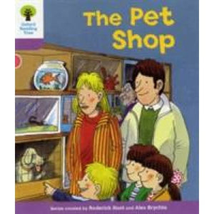 Oxford Reading Tree: Level 1+: Patterned Stories: Pet Shop - University Press 9780198481041