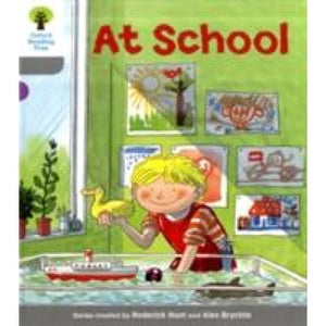 Oxford Reading Tree: Level 1: Wordless Stories A: At School - University Press 9780198480273