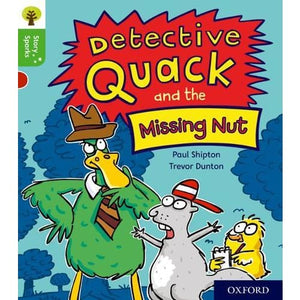 Oxford Reading Tree Story Sparks: Level 2: Detective Quack and the Missing Nut - University Press 9780198414902